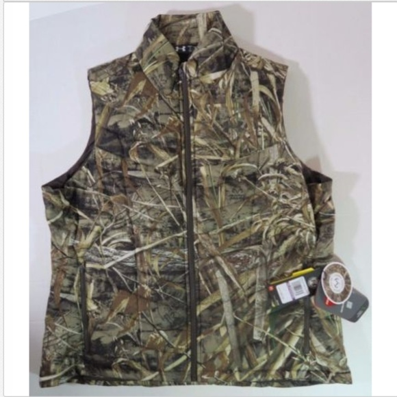 673402d825fe6 Under Armour Jackets & Coats | Womens Ua Camo Hunting Vest Frost ...